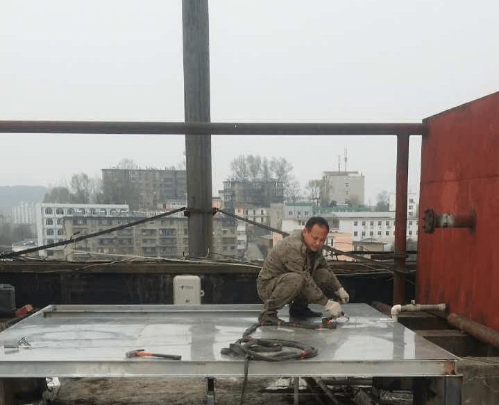 安康火车站不锈钢水箱